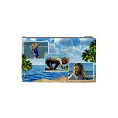 Holiday (small) Cosmetic Bag By Deborah   Cosmetic Bag (small)   K9aw34al7isw   Www Artscow Com Back