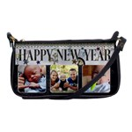 Happy New Year Shoulder Clutch Bag
