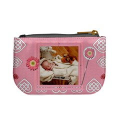 Pink Love Mini Coin Purse By Lil    Mini Coin Purse   D9sb8p58o8u3   Www Artscow Com Back