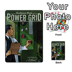 Power Grid Money Cards By Marco   Multi Purpose Cards (rectangle)   1o28qac1ygj8   Www Artscow Com Back 1
