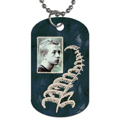 Pen And Ink Dogtags By Charity   Dog Tag (two Sides)   Y4z91576xht7   Www Artscow Com Front