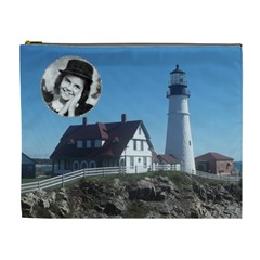 Light House Xl Cosmetic Bag By Kim Blair   Cosmetic Bag (xl)   Evumv5ezbo5v   Www Artscow Com Front