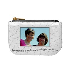Friendship Change Purse By Patricia W   Mini Coin Purse   84i9l99sle8r   Www Artscow Com Front