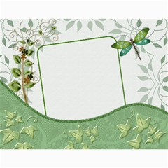Green Nature 12 Month Wall Calendar By Lil    Wall Calendar 11  X 8 5  (12 Months)   036wny4xfd6k   Www Artscow Com Month