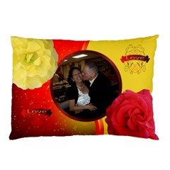 Lover s  Pillow Case By Kim Blair   Pillow Case (two Sides)   5ahl6mc36zwk   Www Artscow Com Back