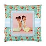 Floral Fest Cushion Pillow - Standard Cushion Case (One Side)