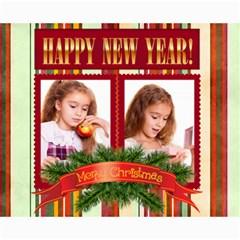 Christmas By Joely   Collage 8  X 10    N3db2eg0d8y6   Www Artscow Com 10 x8 Print - 5