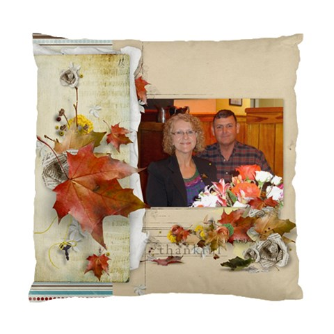 Christmas Pillow Dorlaine And Ken By Kellie Simpson   Standard Cushion Case (one Side)   13y6uprlzs3v   Www Artscow Com Front
