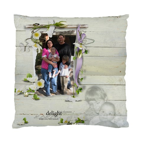 Christmas Pillow Nina And Joe By Kellie Simpson   Standard Cushion Case (one Side)   Uxcv28zfc5me   Www Artscow Com Front