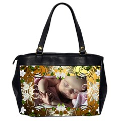 Tangled In Love Oversized (2 Sided) Office Bag By Deborah   Oversize Office Handbag (2 Sides)   W2ee8rmfajlz   Www Artscow Com Back