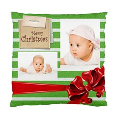 Baby Xmas By Wood Johnson   Standard Cushion Case (two Sides)   Fhiqodk3icmx   Www Artscow Com Back