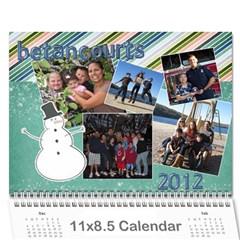 2012 Calendar By Karen Betancourt   Wall Calendar 11  X 8 5  (12 Months)   Oq0pfzk6eh03   Www Artscow Com Cover