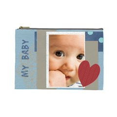 Baby By Joely   Cosmetic Bag (large)   10dx5fthfi29   Www Artscow Com Front