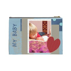 Baby By Joely   Cosmetic Bag (large)   10dx5fthfi29   Www Artscow Com Back