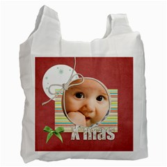 Xmas By Joely   Recycle Bag (two Side)   70orfj0ymr0y   Www Artscow Com Front