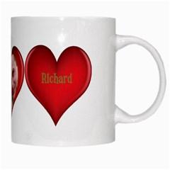 Love Heart Mug By Deborah   White Mug   Avra8gd43rvs   Www Artscow Com Right