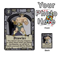 Dungeon Delver By Drew Chamberlain   Multi Purpose Cards (rectangle)   Hons7l2gm2n8   Www Artscow Com Front 6