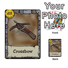 Dungeon Delver By Drew Chamberlain   Multi Purpose Cards (rectangle)   Hons7l2gm2n8   Www Artscow Com Front 9