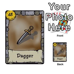 Dungeon Delver By Drew Chamberlain   Multi Purpose Cards (rectangle)   Hons7l2gm2n8   Www Artscow Com Front 11