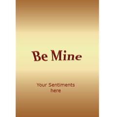 Valentine Sweetheart Card (5x7) By Deborah   Greeting Card 5  X 7    Cez60faqiqqr   Www Artscow Com Back Inside