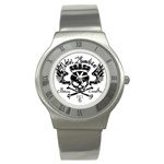 Zombie King Mark : Steel Watch - Stainless Steel Watch