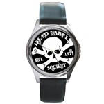 Dead Label Mark Black : Rd Watch - Round Metal Watch