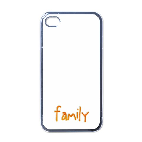 Family Cover By Albums To Remember   Apple Iphone 4 Case (black)   9mla0xjasm34   Www Artscow Com Front