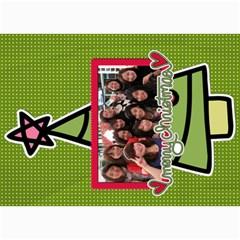 Xmas By Tammy   5  X 7  Photo Cards   O7m5jpg3qker   Www Artscow Com 7 x5 Photo Card - 10