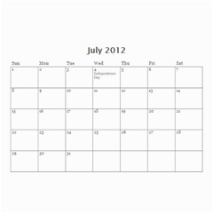 Christmas Calendar By Tina Rosamond   Wall Calendar 8 5  X 6    711jhpth90q9   Www Artscow Com Jul 2012