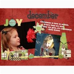 Calendar By Lenette   Wall Calendar 11  X 8 5  (12 Months)   V2h6y5adamj5   Www Artscow Com Month