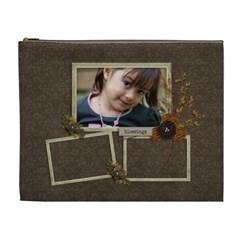 Cosmetic Bag (xl): Thankful 17 By Jennyl   Cosmetic Bag (xl)   Rda85ykpo75a   Www Artscow Com Front