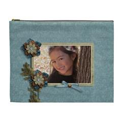 Cosmetic Bag (xl): Thankful 20 By Jennyl   Cosmetic Bag (xl)   Kgwf52ytglco   Www Artscow Com Front