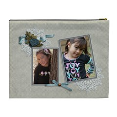 Cosmetic Bag (xl): Thankful 22 By Jennyl   Cosmetic Bag (xl)   Of1nyyts7owy   Www Artscow Com Back