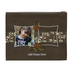 Cosmetic Bag (xl): Thankful 28 By Jennyl   Cosmetic Bag (xl)   Hzsn22ivdidl   Www Artscow Com Back