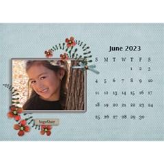 Desktop Calendar 8 5  X 6  Cherished Memories By Jennyl   Desktop Calendar 8 5  X 6    4u5anpipdn0p   Www Artscow Com Jun 2016