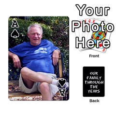 Ace Playing Cards   Tony By Lynda Richardson   Playing Cards 54 Designs   7tjsqaeamn6o   Www Artscow Com Front - SpadeA