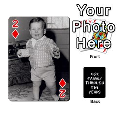 Playing Cards   Tony By Lynda Richardson   Playing Cards 54 Designs   7tjsqaeamn6o   Www Artscow Com Front - Diamond2