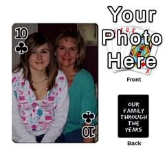 Playing Cards   Tony By Lynda Richardson   Playing Cards 54 Designs   7tjsqaeamn6o   Www Artscow Com Front - Club10