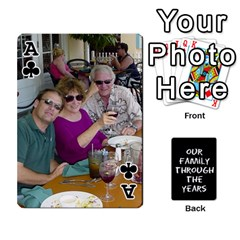 Ace Playing Cards   Tony By Lynda Richardson   Playing Cards 54 Designs   7tjsqaeamn6o   Www Artscow Com Front - ClubA