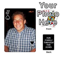 Jack Playing Cards   Tony By Lynda Richardson   Playing Cards 54 Designs   7tjsqaeamn6o   Www Artscow Com Front - SpadeJ