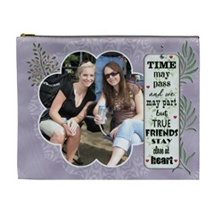 Special Friend Xl Cosmetic Bag By Lil    Cosmetic Bag (xl)   Ahky91r1751t   Www Artscow Com Front