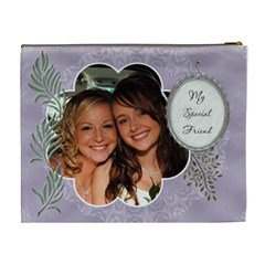 Special Friend Xl Cosmetic Bag By Lil    Cosmetic Bag (xl)   Ahky91r1751t   Www Artscow Com Back
