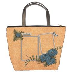 Bucket Bag: Thankful2 By Jennyl   Bucket Bag   4ariasv75j1c   Www Artscow Com Back