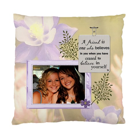 Forever Friends Cushion Case (1 Sided) By Lil    Standard Cushion Case (one Side)   Zteh4c67pcfj   Www Artscow Com Front