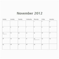2012 Mom Calendar By Ac   Wall Calendar 11  X 8 5  (12 Months)   80ut5xxcowbx   Www Artscow Com Nov 2012