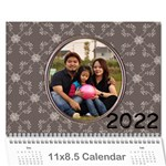 2015 Happy Family 11x8.5 - you - Wall Calendar 11  x 8.5  (12-Months)
