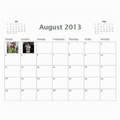 Calendar   Scilingo Family By Michelle   Wall Calendar 11  X 8 5  (12 Months)   Hsyf8s40mfuf   Www Artscow Com Aug 2013