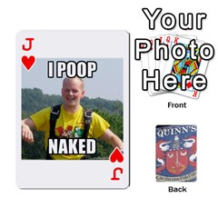 Jack Cards For Quinns By Will   Playing Cards 54 Designs   Ybw02uaft441   Www Artscow Com Front - HeartJ