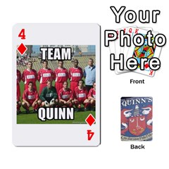 Cards For Quinns By Will   Playing Cards 54 Designs   Ybw02uaft441   Www Artscow Com Front - Diamond4