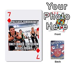 Cards For Quinns By Will   Playing Cards 54 Designs   Ybw02uaft441   Www Artscow Com Front - Diamond7
